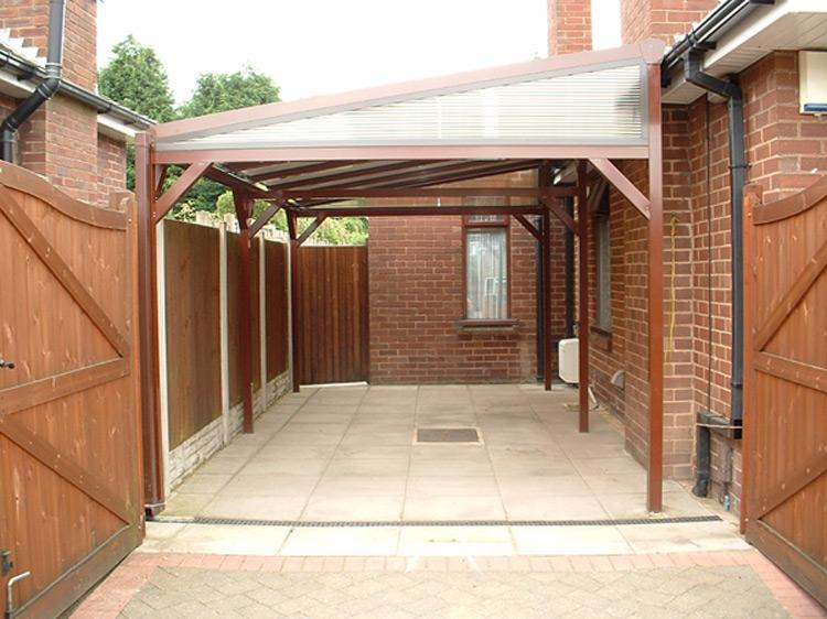 Build a Carport for a bungalow