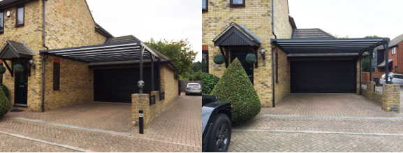 Add a contemporary carport to your house
