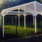 Omega Smart Canopy - Free Standing with Gable Roof (type 2)