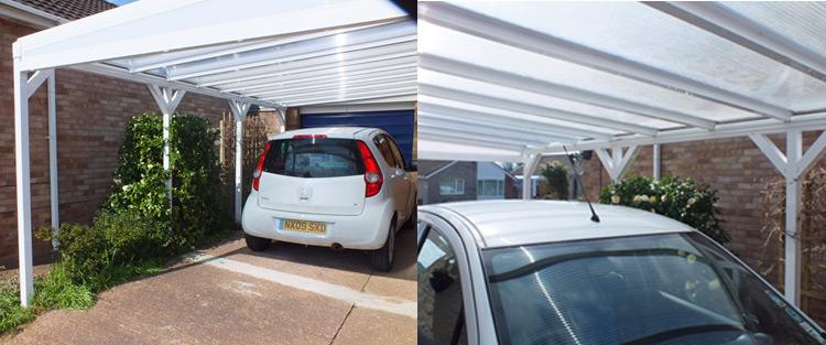 Add a carport to a property