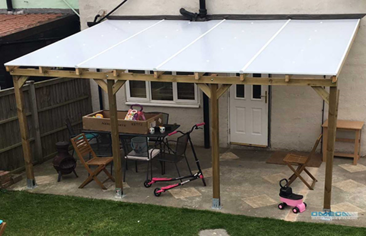 How To Build A Timber Canopy Or Carport