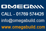 Omega Build - Omega Smart Canopy - Free Standing with 'Lean-To' Style Roof | 2.5m Projection |