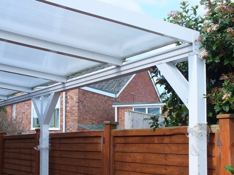 White and grey Smart Canopy Sale