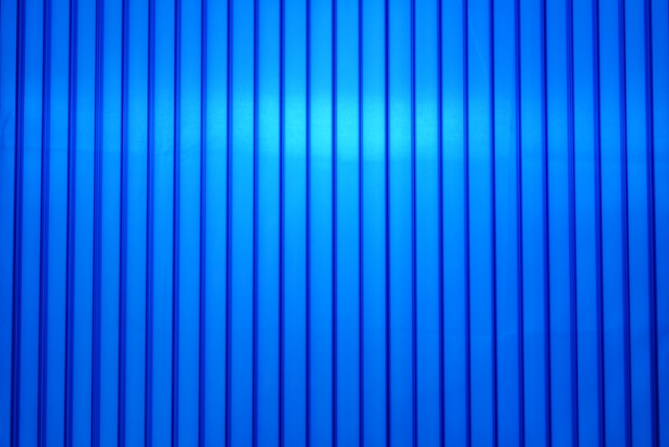 Blue polycarbonate sheets