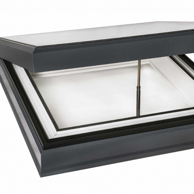 Ecogard glass rooflight