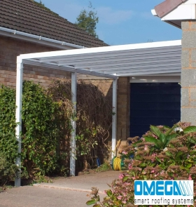 White Aluminium Smart Canopies with special discounts