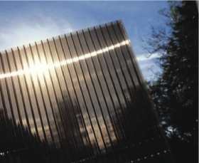 20% off 10mm bronze twinwall polycarbonate-SOLD OUT