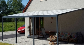 New Omega Smart Canopy Range in Anthracite Grey