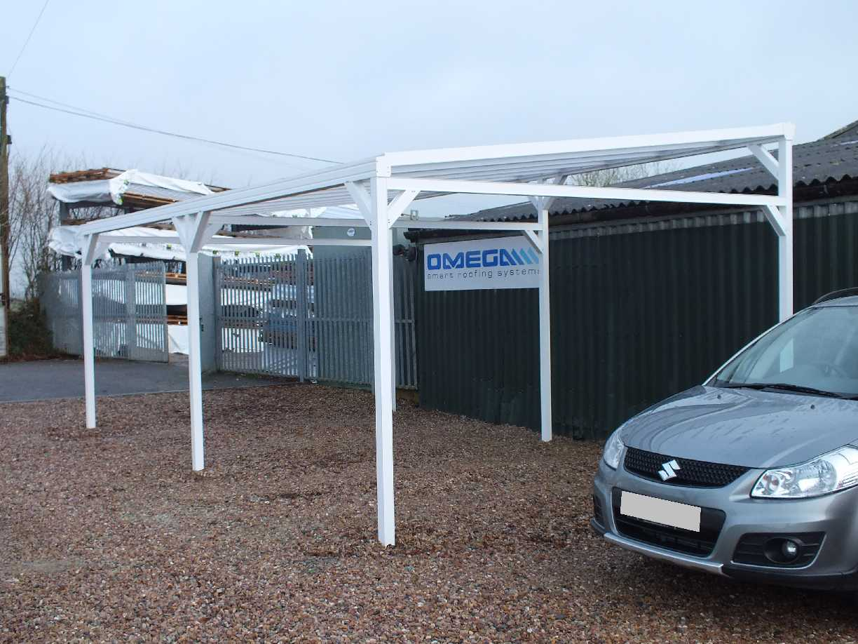 Omega Smart Canopy Free Standing With Lean To Style
