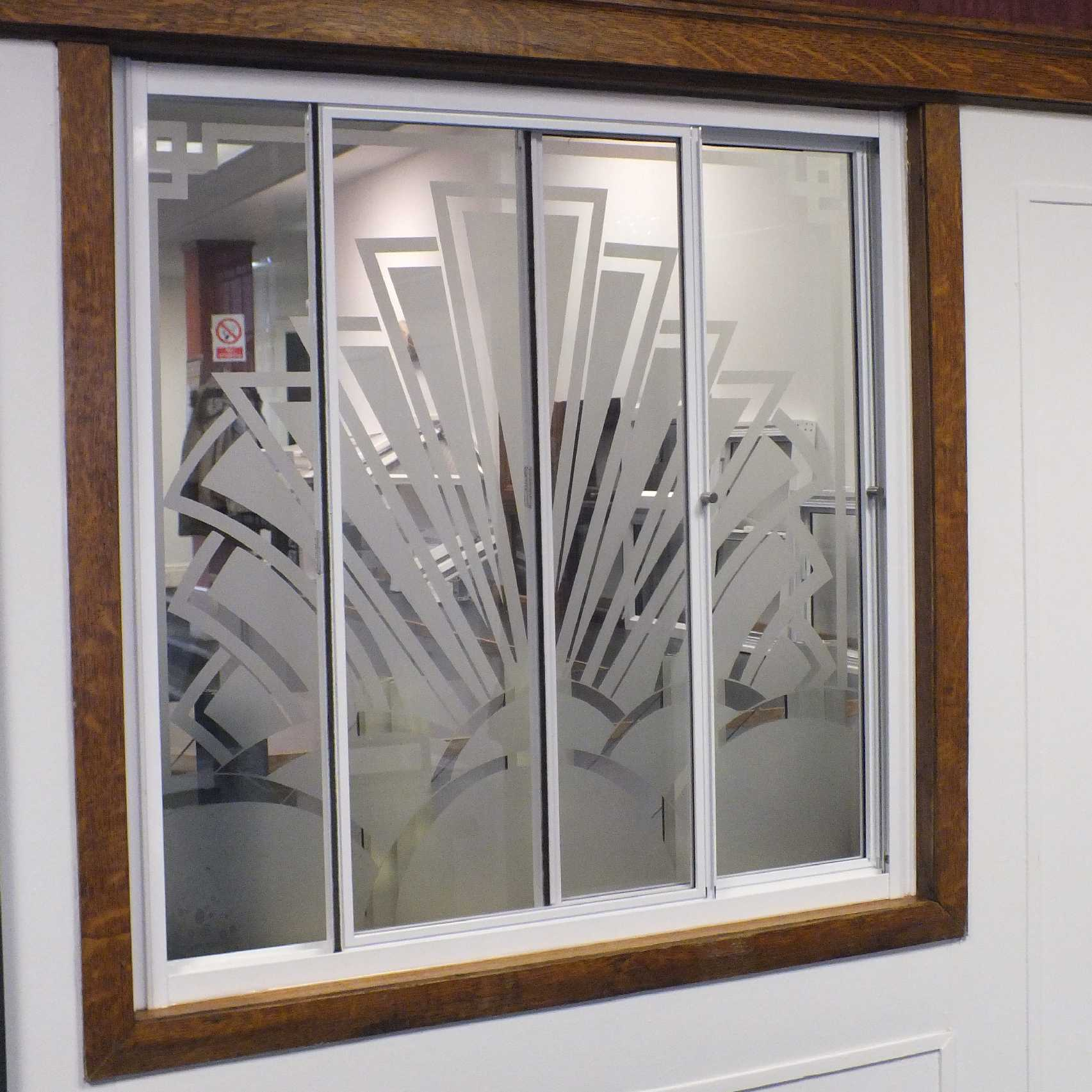Opening secondary glazing system
