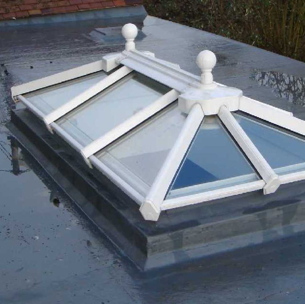 Roof Lantern, Active Neutral Glass