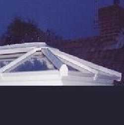 Roof Lantern, Active Blue Glass