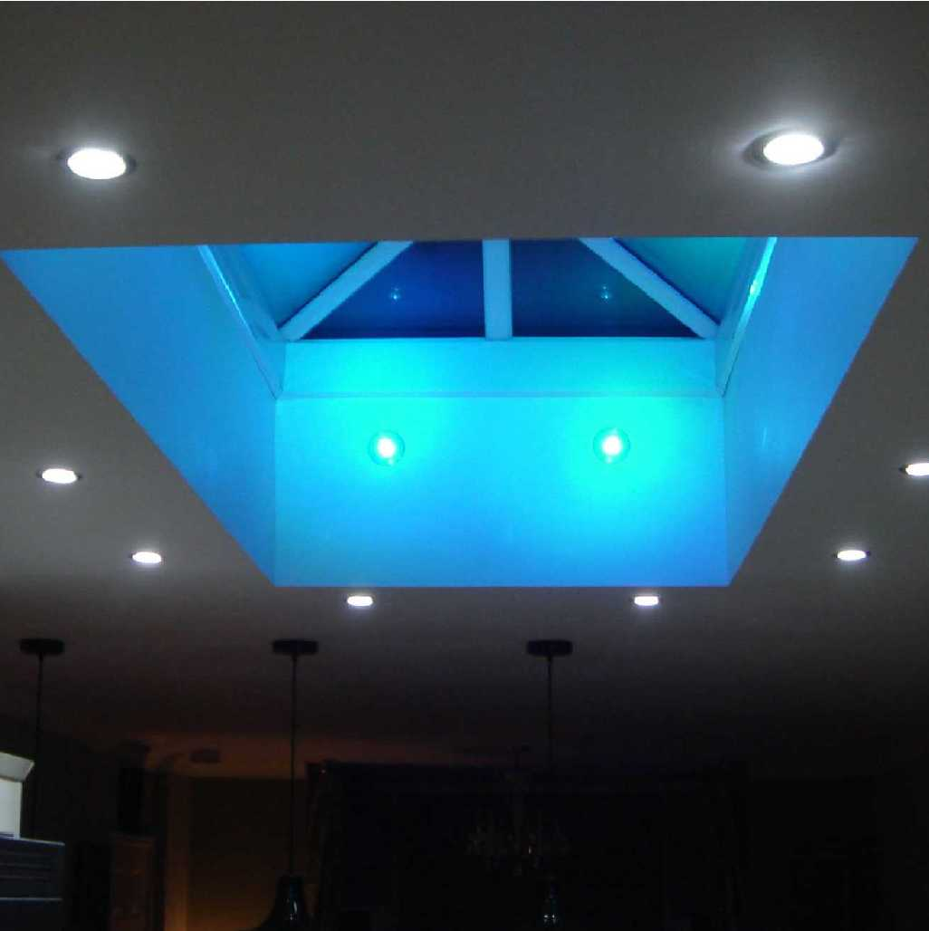 Roof Lantern, Active Aqua Low E Glass