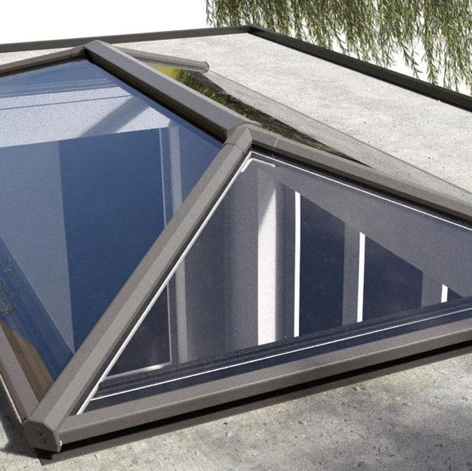 Contemporary Aluminium Roof Lanterns