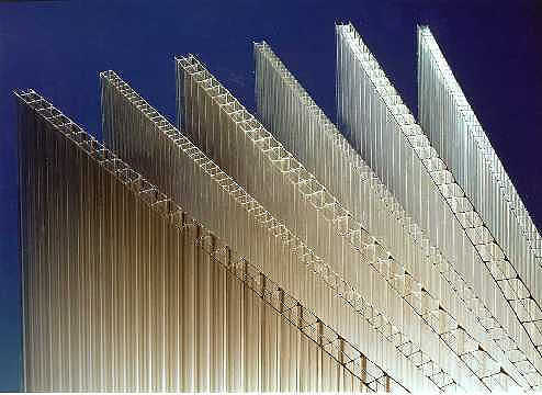 Multiwall Polycarbonate Glazing Sheets - Standard Rectangles