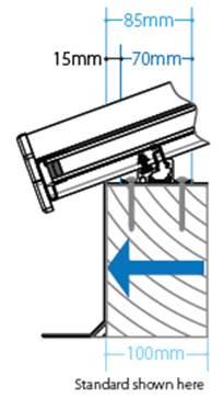 4 panel roof lantern