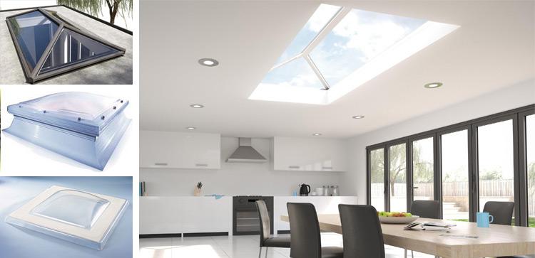 Aluminium roof lanterns (roof light)