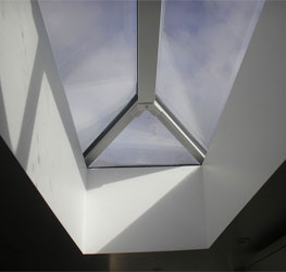 How to replace a rafter-supported roof with a roof lantern