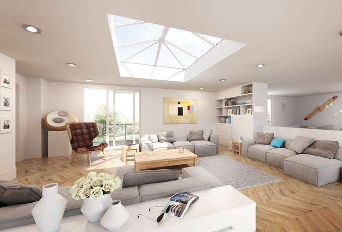 Roof lanterns for extensions