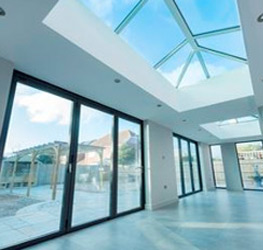 Transform a room with a roof lantern