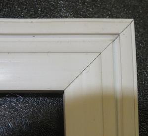 Fixed panel diy secondary glazing