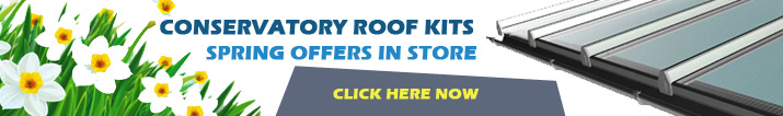 Conservatory roof kit offers