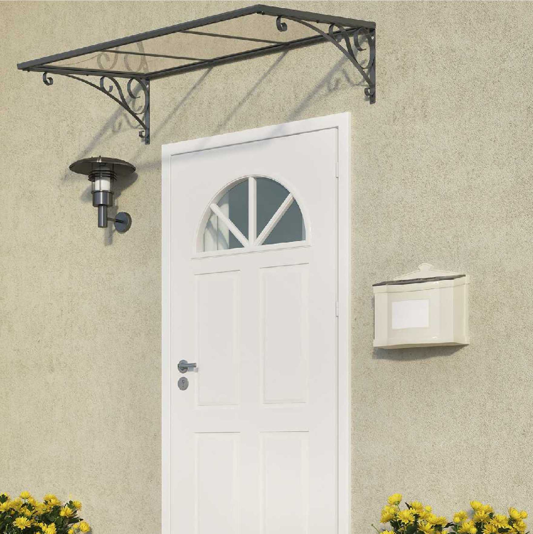 Venus Door Canopy- 1350mm (W) x 880mm (P)