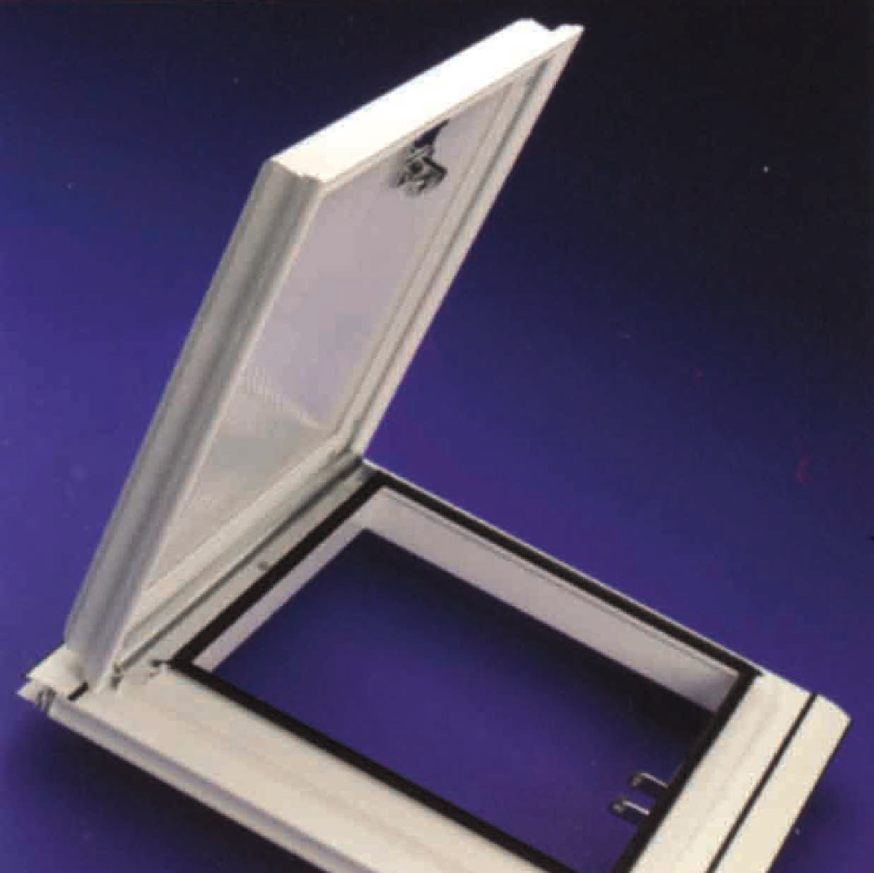 Buy Aluminium/uPVC Conservatory Roof Vent (Bar-to-Bar) for 25mm thick polycarbonate online today