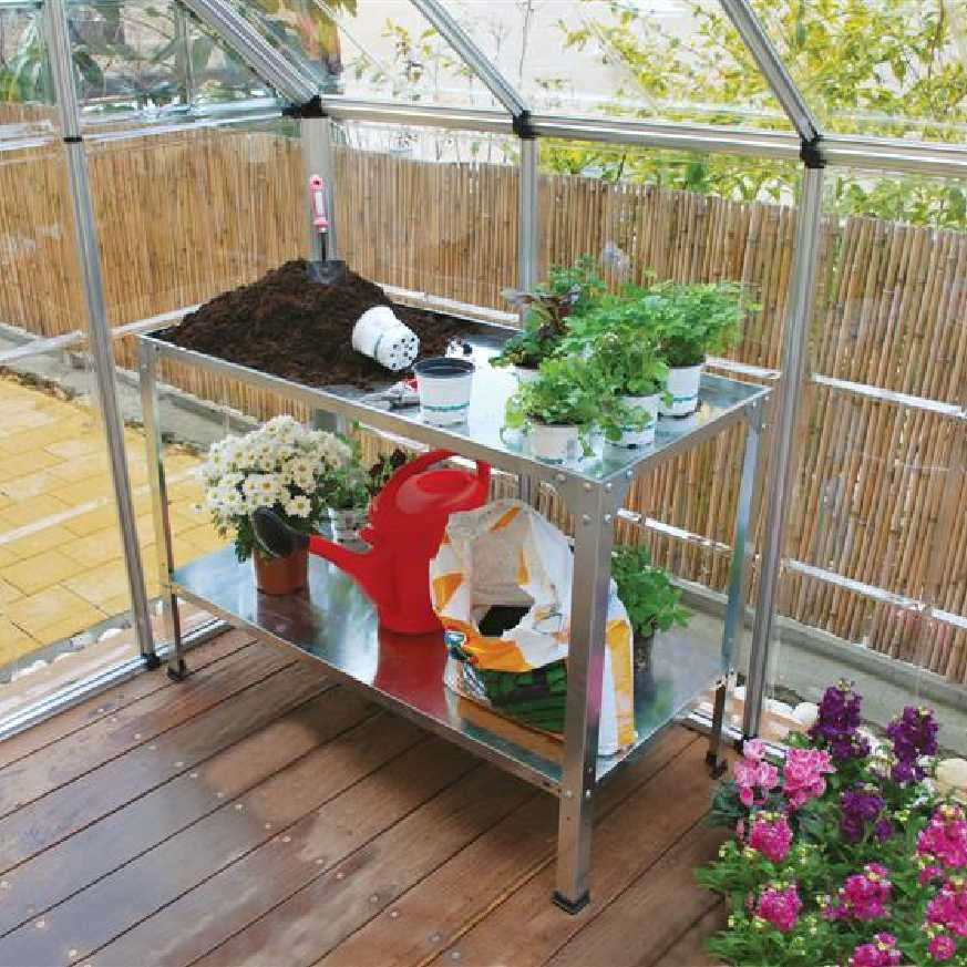 Steel Workbench for Greenhouses