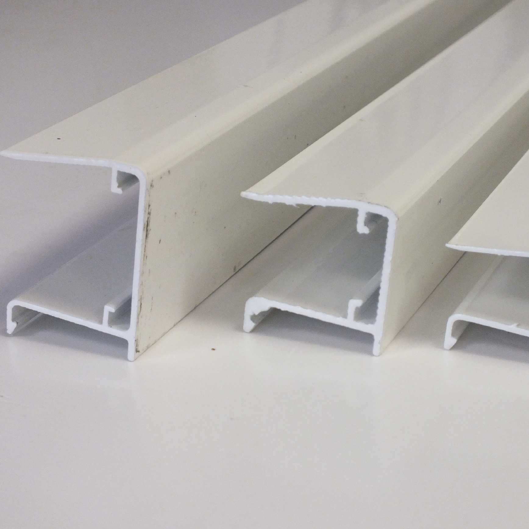 Buy Aluminium Sheet Closures for 35mm thick glazing, 2.1m online today
