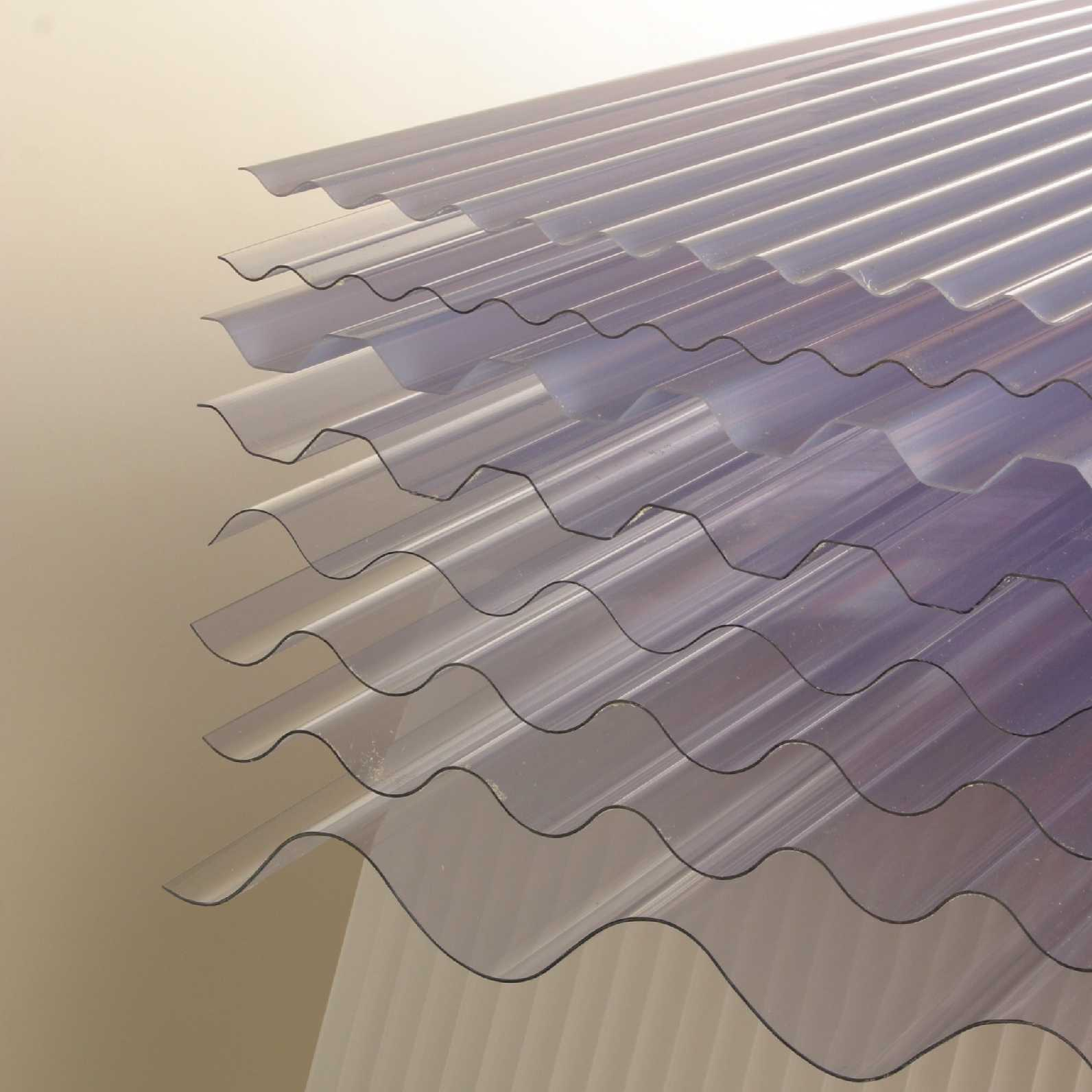 UPVC Corrugated Roofing Sheet - 3