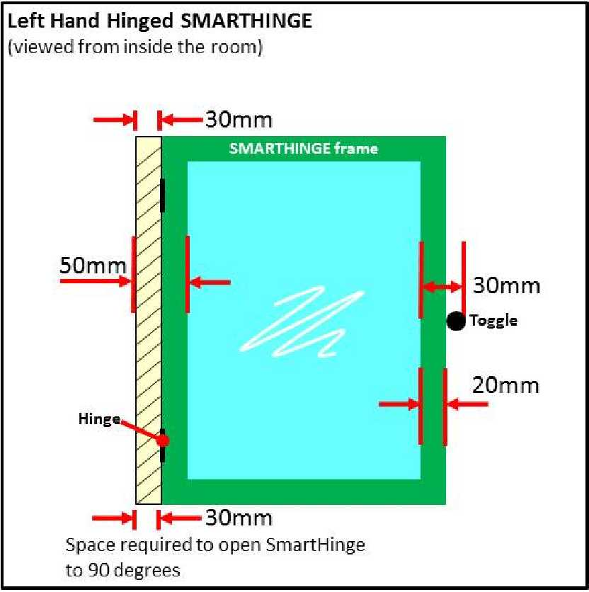 Great selection of SmartHinge with 6mm Plate Polycarbonate Glazing