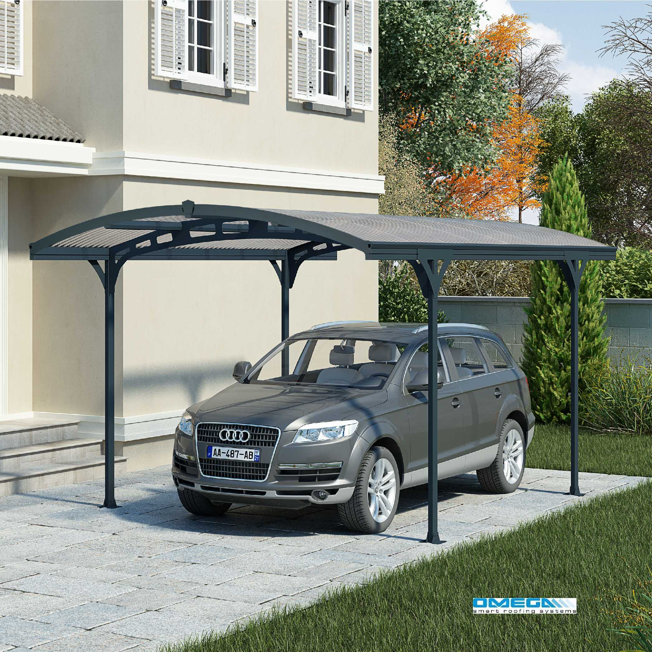 Great deals on Atlas 5000 Curved Freestanding Canopy 4950 x 2879mm