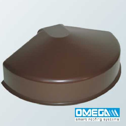 UPVC Spider (semi-circular) for Aluminium Ridge Cap