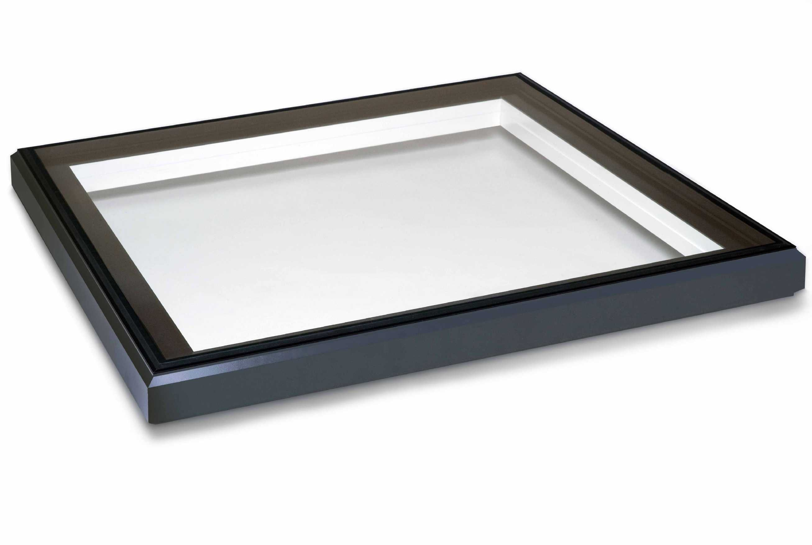 Buy EcoGard Flat Roof light, Double Glazed, Fixed, 1,000mm x 1,000mm online today