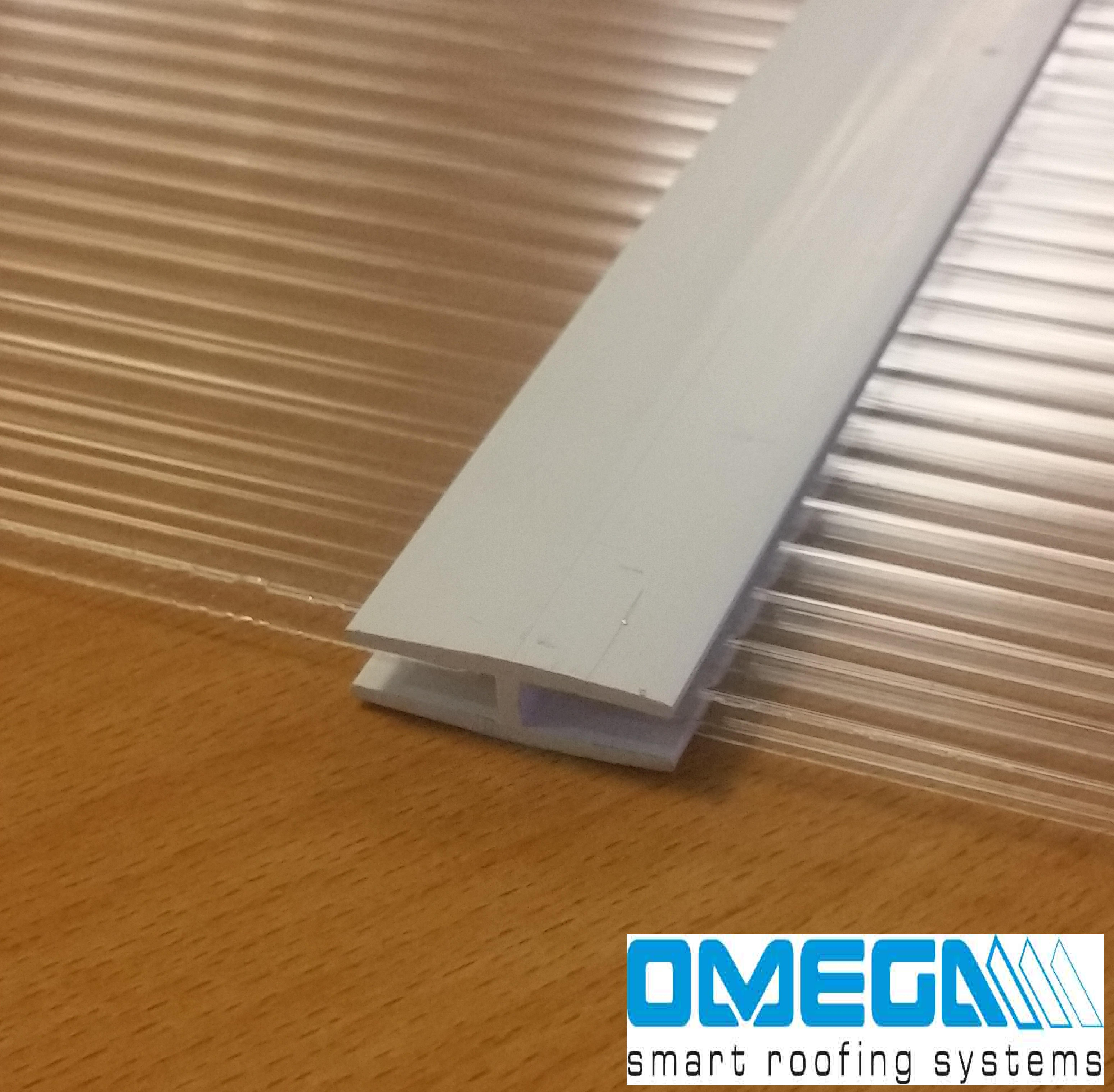 Joining Strip/H section for 4mm glazing sheets