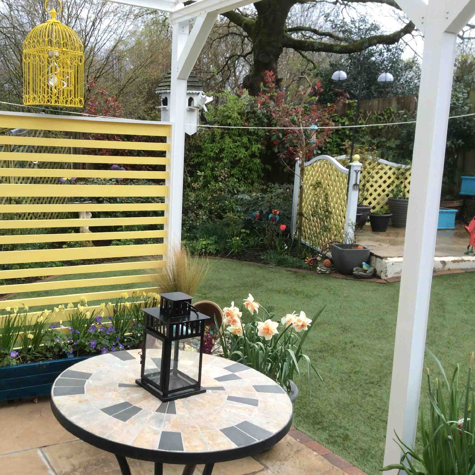 Omega Verandah with 16mm Polycarbonate Glazing - 11.2m (W) x 4.5m (P), (5) Supporting Posts from Omega Build